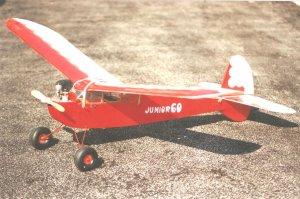 Ben Buckle Vintage Model Plane kit Junior 60 Balsa …