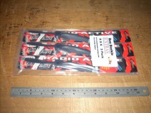 Radio Active RAM 8 X 6 prop pack of 3