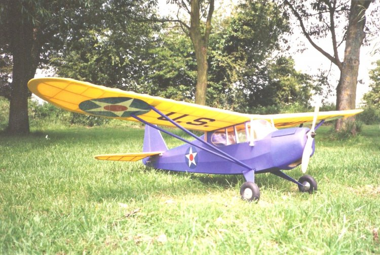 "Taylorcraft 057 70"" Plan - Click Image to Close"
